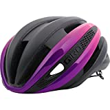 Giro Synthe MIPS Road Cycling Helmet Matte Black/Bright Pink Medium (55-59 cm)