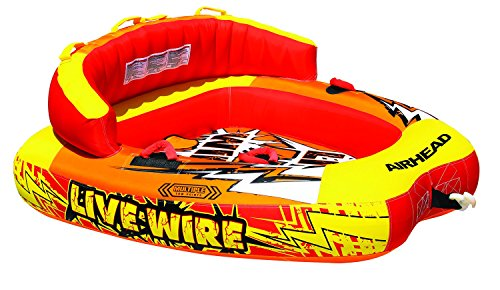Kwik Tek AHLW-2 Live Wire 2-Rider Towable by Airhead