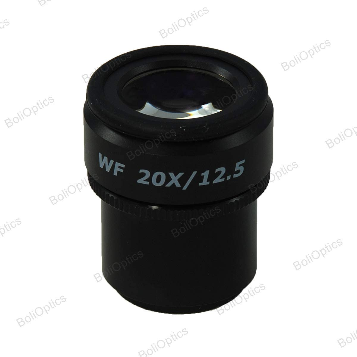 SZ17013642 Adjustable Diopter Mounting Size 30mm Cross Line FOV 12.5mm BoliOptics WF 20X Widefield Focusable Microscope Eyepiece with Reticle High Eyepoint One