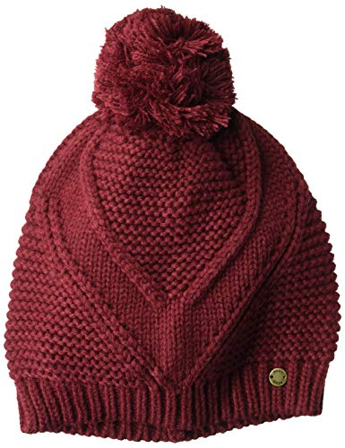 - Roxy Junior's Lovers Soul Beanie Hat, Oxblood red, One Size