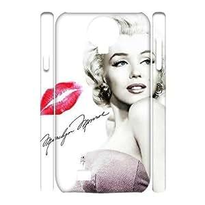 SYSD Cell phone Samsung Galaxy S4 i9500 Cases Marilyn Monroe Hard 3D Case KJ65992073