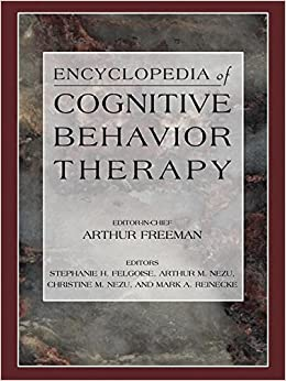 Book Encyclopedia of Cognitive Behavior Therapy (Social Indicators Research Series) (2005-09-28)