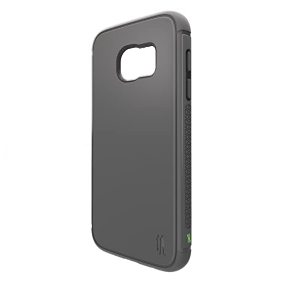 the best attitude 496e8 2ee47 BodyGuardz Shock Series Case for Samsung Galaxy S7 edge - Dark Gray / Lime
