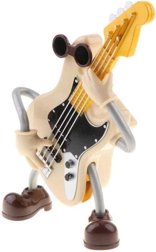 Song Plastic Music Box - Caja De Música De Dibujos Animados De Baile con Forma De Guitarra Caja De Música Giratoria Personalizada: Amazon.es: Hogar