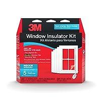Deals on 3M Indoor Window Insulator Kit, 5-Window