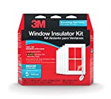 3M Indoor Window Insulator Kit for 5 Windows
