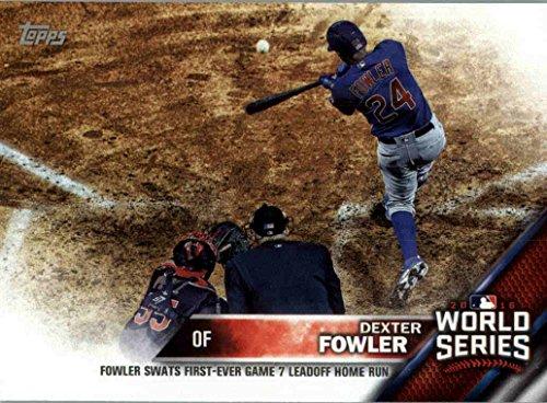 (2016 Topps World Series Champions Box Set WS-12 Dexter Fowler (Commemorative Baseball Card))