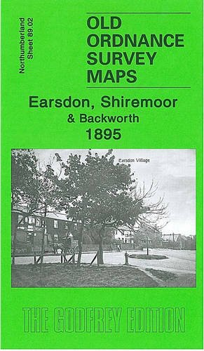 Old Ordnance Survey Maps Earsdon Shiremoor 1895 Northumberland Special Offer