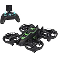 Zlimio Mini RC Drone 2.4 GHz Quadcopter Remote Control FPV 4CH 4-Axis Gyro Helicopter Wifi Headless Mode with HD Camera Real Time Transmission RTF