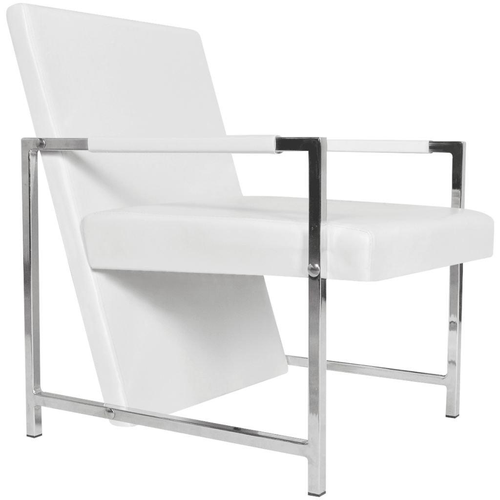Amazon.com: Festnight - Silla reclinable de piel con ...