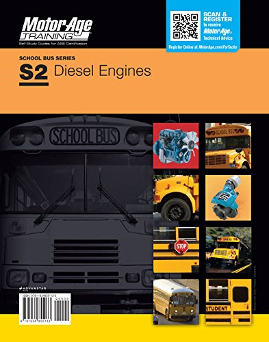 ASE S2 Test Prep Diesel Engines Certification Study Guide (Motor Age) by Motor Age Staff (2013-05-04) (Air Induction System)