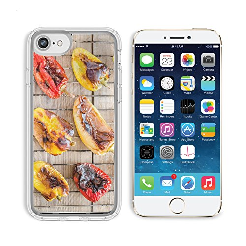 Luxlady Apple iPhone 6/6S Clear case Soft TPU Rubber Silicone Bumper Snap Cases iPhone6/6S IMAGE ID 31678188 grilled bell peppers