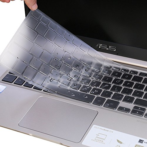 "Ultra Thin Clear TPU Keyboard Cover for 13.3"" ASUS ZenBook 1"