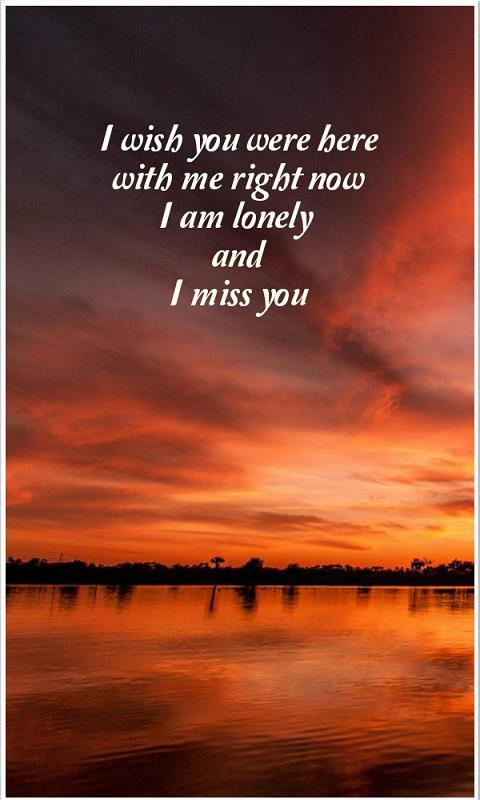Amazoncom Say I Miss You Quotes Appstore For Android