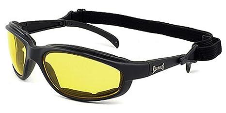 Occhiali da Sole Choppers Sport - Ciclismo - Sci - Condotta - Moto - Guida / Stunt Nero 07LlMultMD