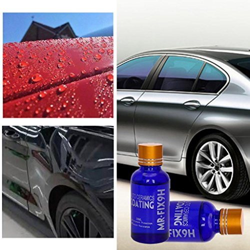 Price comparison product image Mchoice Anti-scratch Car Liquid Ceramic Coat Super Hydrophobic Glass Coating Car Polish