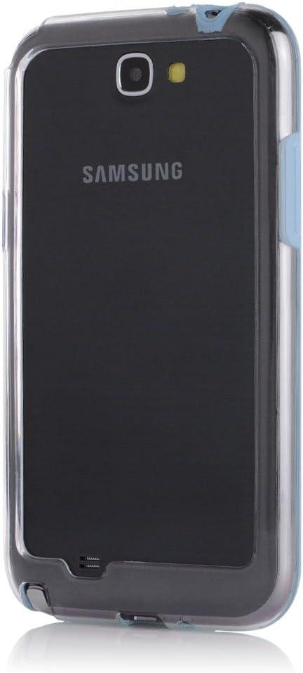 Bumper Case para smartphones. azul claro Galaxy Note 2: Amazon.es ...