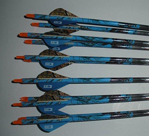 Carbon Express Maxima BLU RZ 250 Carbom Arrows w/Blazer V...