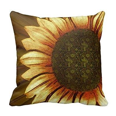 Gowgjyrg My Sun Sunflower Print Pillow Case - Gowgjyrg