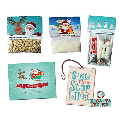 Magic Gift Bundle - Magic Reindeer Food, Snow, Thank You Card & Snowman Soup ()