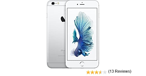 Apple iPhone 6S Plus Plata 32GB Smartphone Libre (Reacondicionado ...