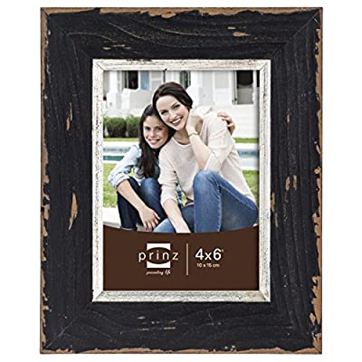 Prinz Crawford Distressed Wood Frame with Gilded Border -  - picture-frames, bedroom-decor, bedroom - 51zY%2BvnIUZL. SS400  -