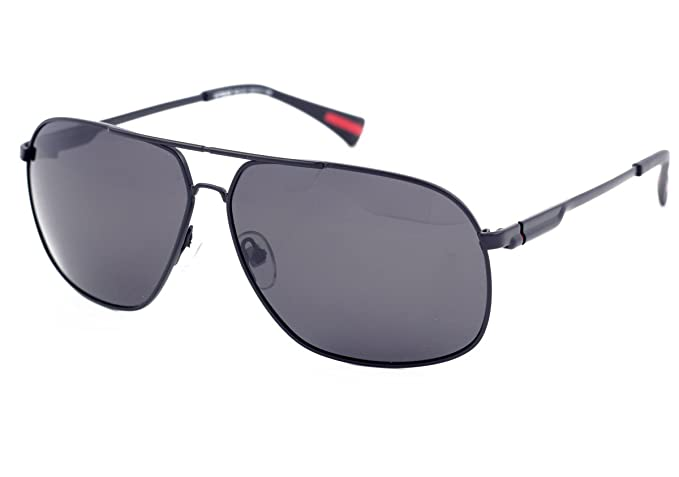 Matrix - Gafas de sol polarizadas para hombre, diseño clásico cuadrado de aviador, lentes