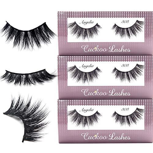 9486ce62fe8 PBTLash Korean silk 3D faux mink eyelashes-611 (4 pack) - Buy Online ...