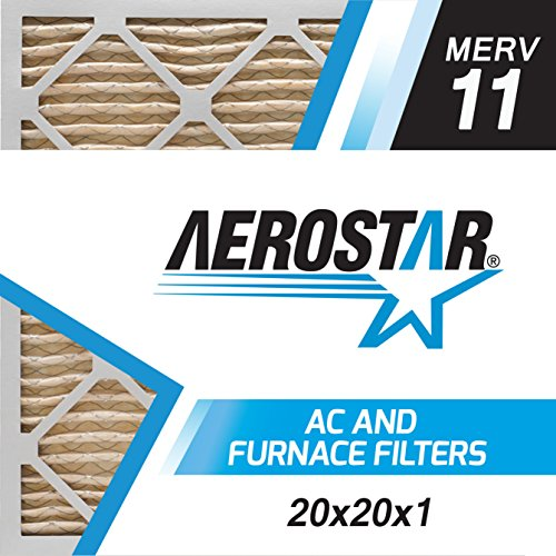 Aerostar 20x20x1 MERV Pleated Filter product image