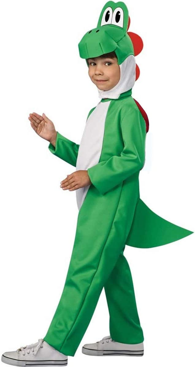 YWPARTY Kids Super Plumber Yoshi Fancy Dress Costume Child Yoshi ...