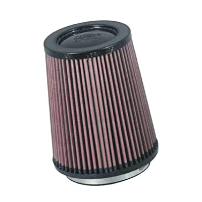 K&N Universal Air Filter - Carbon Fiber Top: High Performance, Premium, Replacement Filter: Flange Diameter: 4.25 In, Filter Height: 6.75 In, Flange Length: 0.625 In, Shape: Round, RP-5167: Automotive