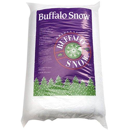CB1339 Buffalo Snow for Christmas Decoration, 16-Ounce (Buffalo Snow)