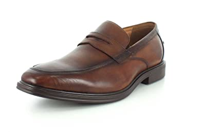 7ffb46417a3 Florsheim Men s Heights Penny Slip-On Cognac Smooth 7 ...