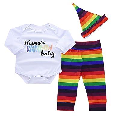 bcc6aa5a910e Longra 2019 New Baby 3 Pcs Clothes Sets