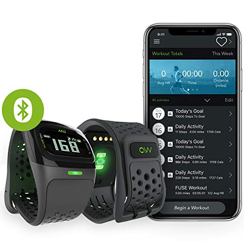 Continuous Monitor - Mio Alpha Heart Rate Monitor Sports Watch