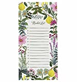 Rifle Paper Co. Herb Garden Market List Magnetic Note Pad