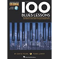 100 Blues Lessons: Keyboard Lesson Goldmine Series Book/Online Audio