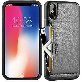 Amazon.com: Silk iPhone X Wallet Case - VAULT Protective