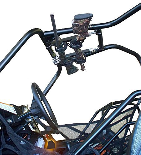Quick-draw™ Overhead UTV Gun Rack (QD854-OGR - UTV's with 10''-15'' rollbar depth)