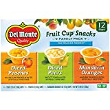 Del Monte No Sugar Added Fruit Cup Variety Pack