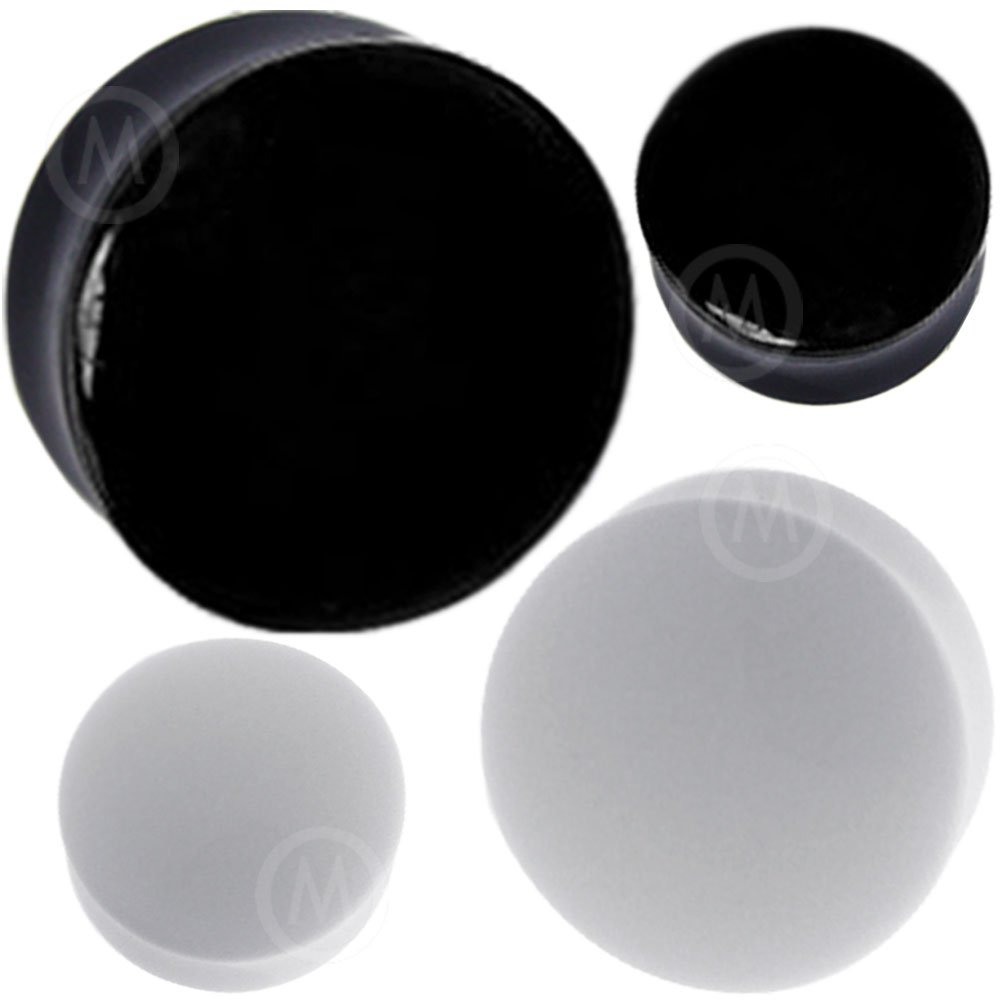 0 00 gauges Ear Plugs Flesh Tunnels Silicone Steel Screw Double Flared Stretcher Taper 8 gauges 8g 3mm
