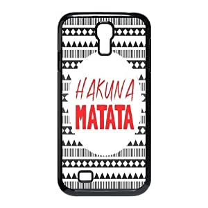 LIUHAOJUN Phone case Case-Style-7 -Best Wishes - Hakuna Matata Quotes Protective Back Case For SamSung Galaxy S4 Case