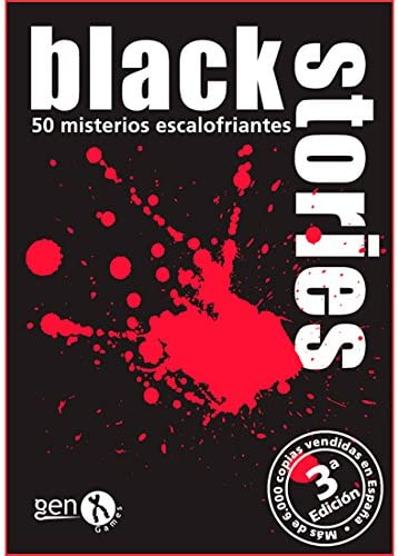 Black Stories - Juego de Mesa (Gen-X Games GEN003): Amazon.es ...