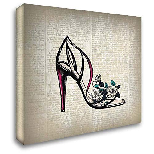 Heel High News - High Heel News 2 32x32 Extra Large Gallery Wrapped Stretched Canvas Art by Kimberly, Allen