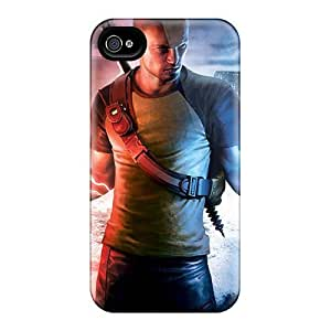 New Arrival Cover Case With Nice Design For Iphone 4/4s- Infamous 2