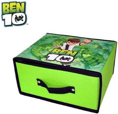 Regalarts - Ben 10 Caja ordenación cajón 28x28: Amazon.es: Juguetes y juegos
