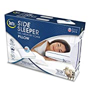 Serta Gel Memory Foam Side Sleeper Pillow Comfort - New