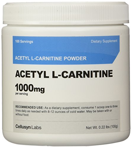 Nutricost Acetyl L Carnitine (ALCAR) 1000mg Per Serving High Quality Pure Acetyl L Carnitine Powder