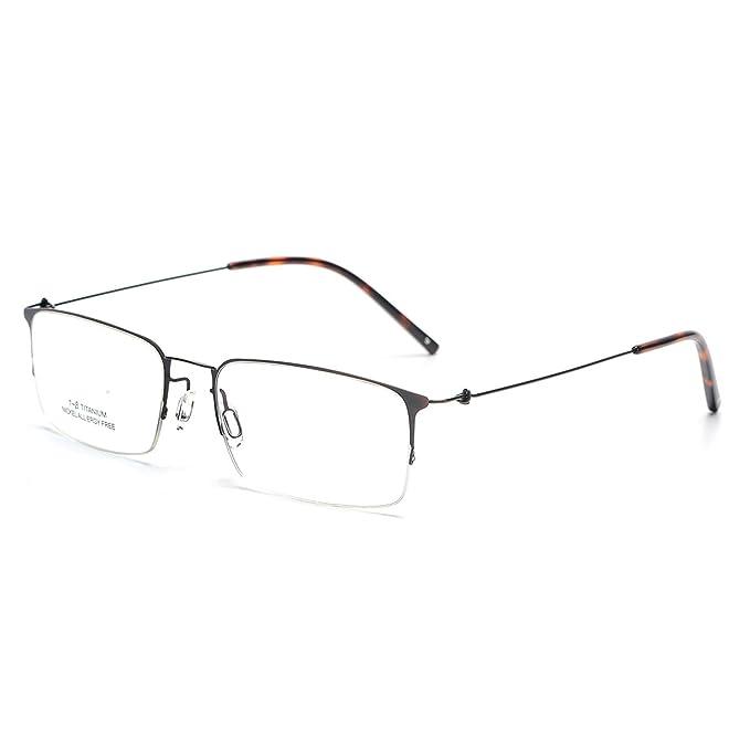 9a1566f573 SO SMOOTH WIND Square Shape Glasses Frame Prescription Eyewear Frame S1101  (Bronze