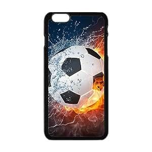 Creative Fire Water Football Custom Protective Hard Phone Cae For Iphone 6 Plus